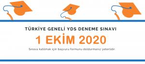 Türkiye Geneli YDS Deneme Sınavı